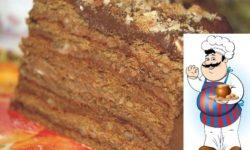 """Шоколадный торт """"Вкус детства""""."""