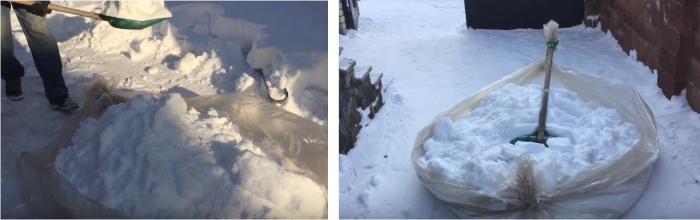 Простые способы уборки снега во дворе, чтобы не надорваться