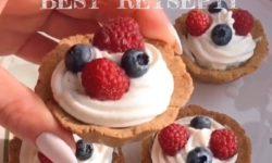 Самые вкусные картиночки с кремом и ягодами, что я пробовала