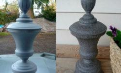 Имитация камня: краска под камень в баллончике для кухонного фартука, мебели, стен, каминов, печки