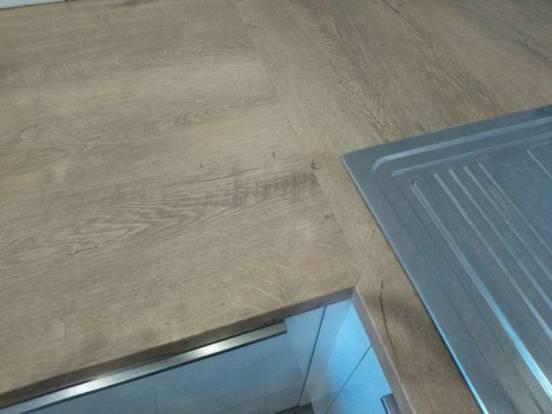 Как стыковать столешницу: чем закрыть стык столешницы на кухне